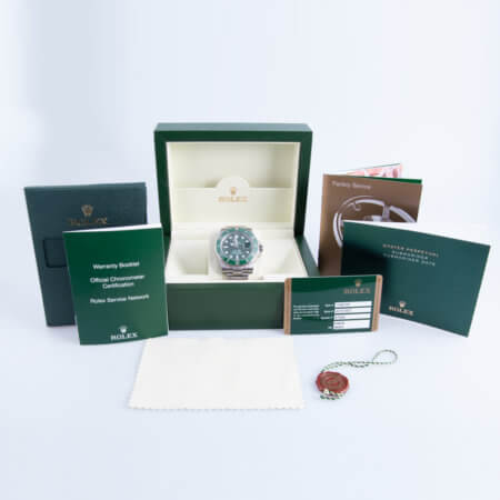 Green Sub - Rolex Submariner Date pre-owned