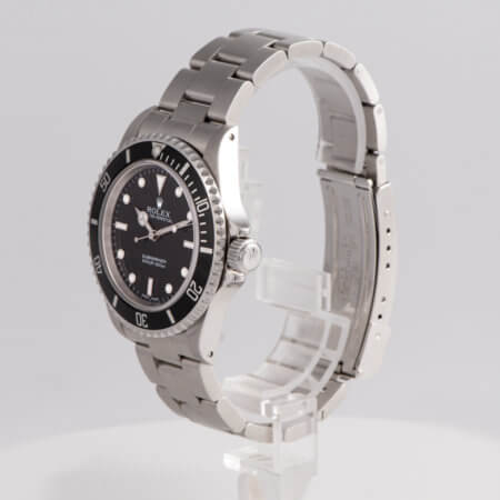 Rolex Submariner pre-owned watch