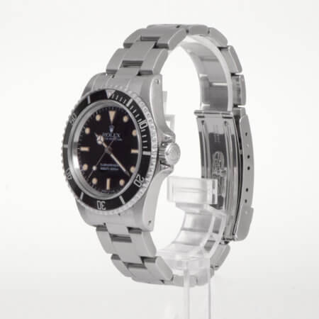 Rolex Submariner vintage watch black dial