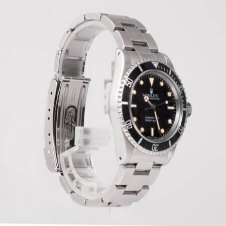 Rolex Submariner vintage watch black dial