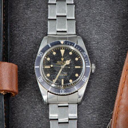small-crown Submariner Ref. 5508 Rolex