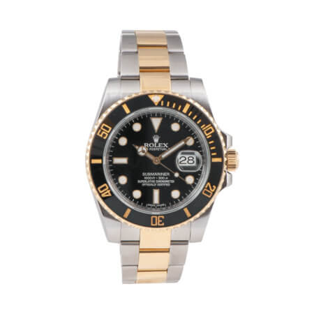Rolex Submariner Date pre-owned watch