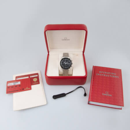 Omega Speedmaster Professional Moonphase pre-owned watch