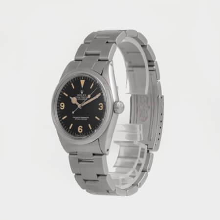 Vintage Rolex Explorer pre-owned watch ref 1016