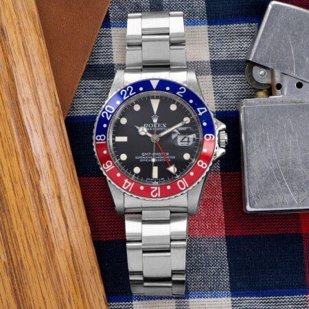 """1982 Rolex GMT-Master """"Pepsi"""" (16750)"""