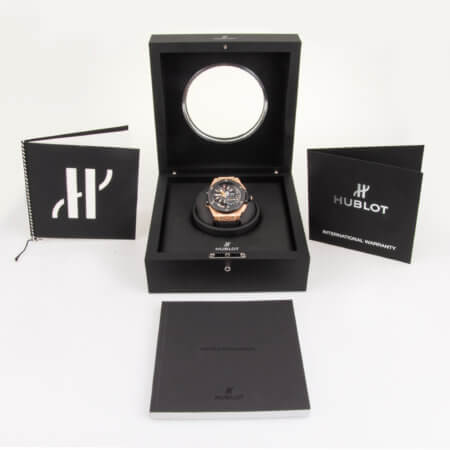 Hublot Big Bang Alarm GMT pre-owned watch