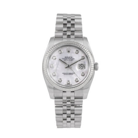 Rolex Datejust 36mm pre-owned watch