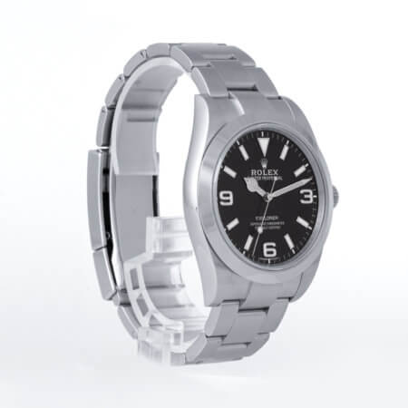 Rolex Explorer ref. 214270 pre-owned watch