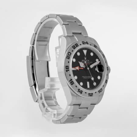 Rolex Explorer II ref. 216570 pre-owned watch