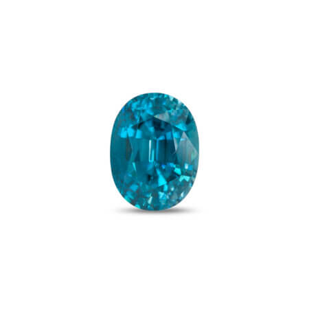 15.44ct Blue Zircon