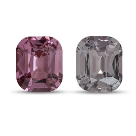 17.87ctw Pink and Gray Spinel