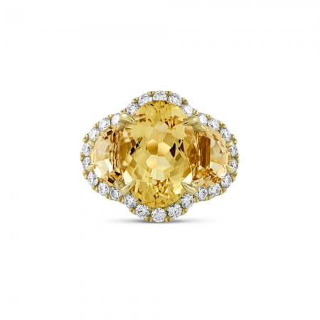 Golden-Beryl-Ring