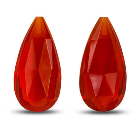 Briolette Fire Opals 8.36ctw