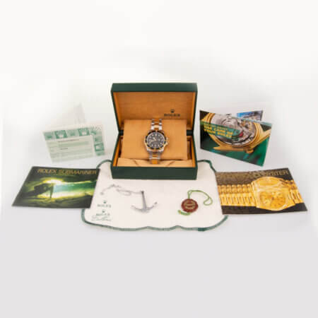 1999 Rolex Submariner Date (16613) pre-owned watch