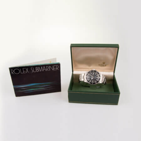 1976 Rolex Submariner (5513) vintage watch