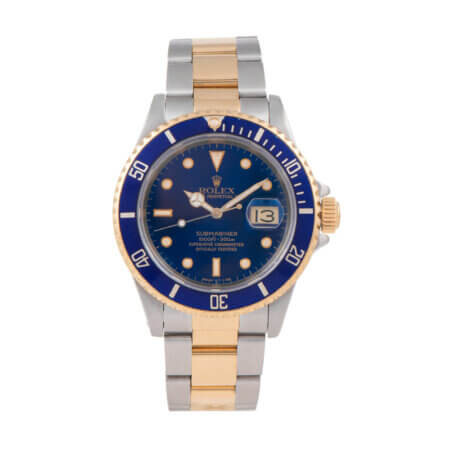 1989 Rolex Submariner Date (16613) pre-owned watch