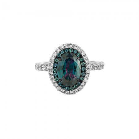 Alexandrite-Halo-Gemstone-Ring