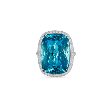 Aquamarine Brazil Ring