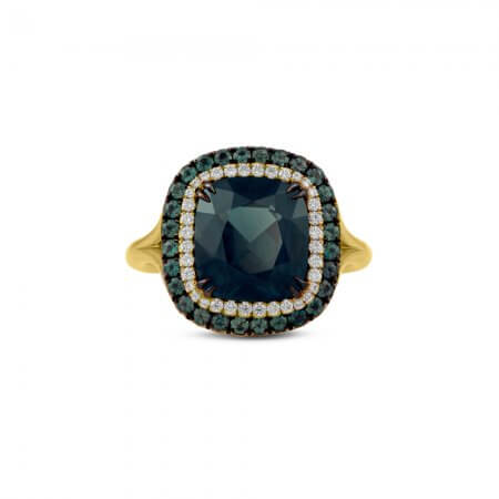 Green-Spinel-Ring