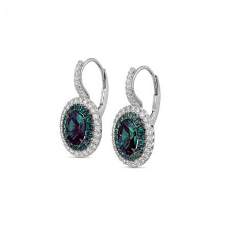 Alexandrite-Dangle-Earrings