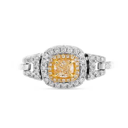 Yellow Diamond Halo Bracelet
