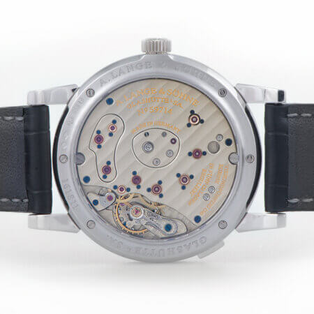 A. Lange & Sohne Lange 1 Platinum Pre-Owned Watch