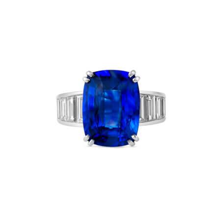 Vivid Royal Sapphire Ring