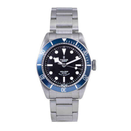 2016 Tudor Black Bay Blue ETA (79220B) pre-owned watch