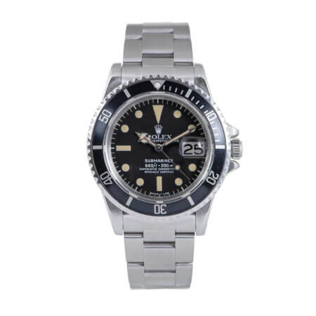 1975 Rolex Submariner Date Vintage watch