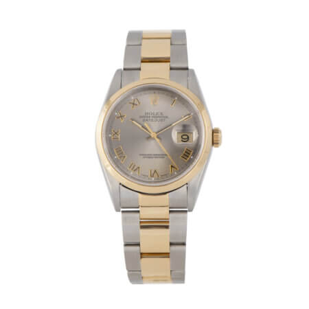 Pre-Owned 1996 Rolex Datejust 36 Ref. 16203 steel and gold
