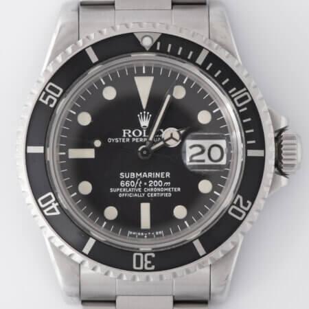 1975 Vintage Rolex Submariner Date (1680)