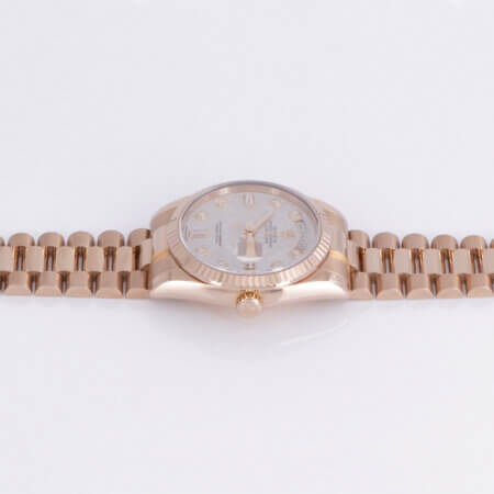 Used 2008 Rolex Day-Date 36 in Everose Gold