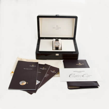 Pre-Owned Patek Philippe Calatrava Ref. 5053R Box and Papers