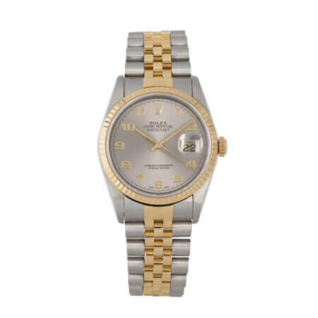 Pre-Owned Rolex Datejust in Yellow Gold and Steel