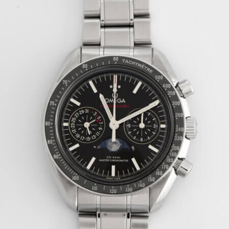 Used Omega Speedmaster Moonphase Co-Axial Master Chronometer