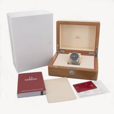 Used Omega Speedmaster Box