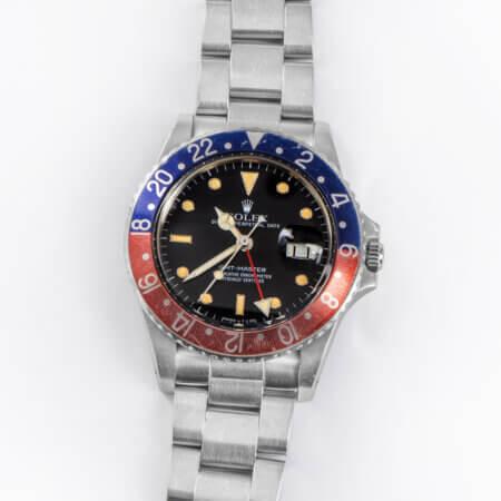 Rolex GMT-Master 16750 with Pepsi Bezel