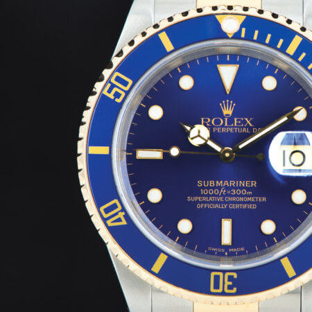 Pre-Owned Rolex Submariner Date Dial
