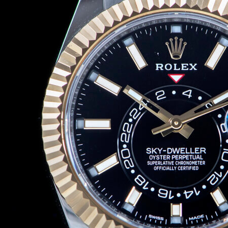 Pre-Owned Rolex Sky-Dweller Dial