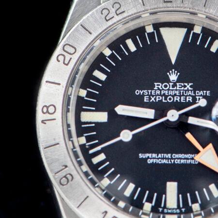 1975 Rolex Explorer II (1655) Dial