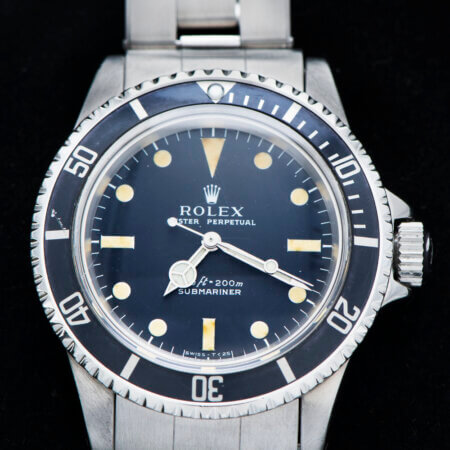 Vintage Rolex Submariner (5513) Dial