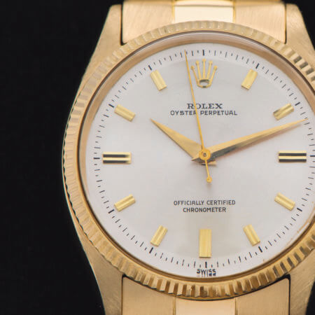Vintage Rolex Oyster Perpetual Dial