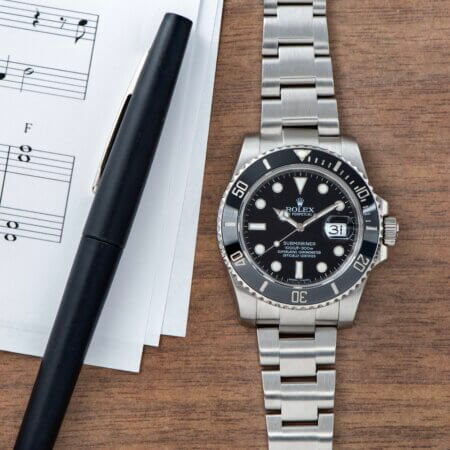 Used Rolex Submariner Date 116610LN in stainless steel