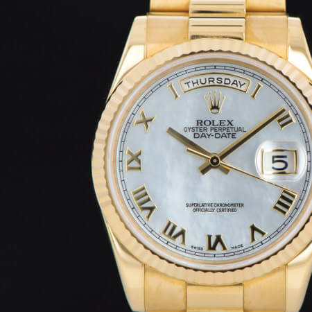 Pre-Owned Rolex Day-Date 36 Dial