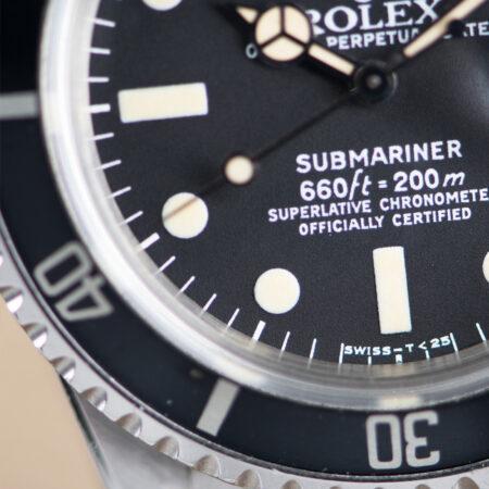 Vintage Rolex Submariner Date (1680) Dial