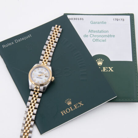 2007 Rolex Lady-Datejust 26 (179173) Papers