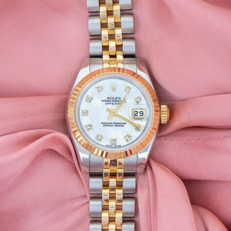 Pre-Owned Rolex Lady-Datejust 26 (179173)