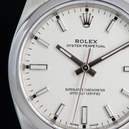Rolex Oyster Perpetual 34 White Dial