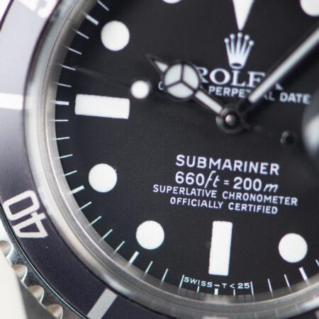 1978 Rolex Submariner Date (1680) Dial