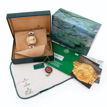 1993 Rolex Oyster Perpetual Date (15223) Box